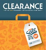 Clearance Sale Poster