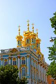Orthodox Church Of Resurrection In The Catherine Palace In Pushkin (leningrad Region)