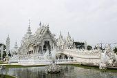 Wat Rong Khun , Thailand White Temple Chiang Rai Province