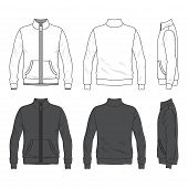 image of bomber jacket  - Blank men - JPG