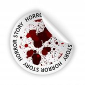 Horror Story Bent Sticker