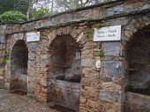 Fountains at Meryem Ana's House, Ephesus