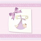 Special Delivery, baby shower card