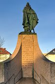 Statue Of Leif Eriksson In Reykjavik, Iceland