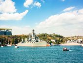 SEVASTOPOL, UKRAINE - JUNE 23 - Guided Missile Cruiser