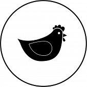 chicken symbol