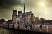 picture of notre dame  - Notre Dame Paris - JPG
