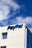 Paypal Corporate Headquarters Sign.