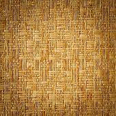 Vignette Style Straw Mat Texture Background