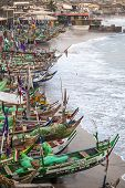 Traditional African Fishing Boats