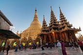 Yangon,myanmar-february 19,2014: Shwedagon Pagoda, Burma