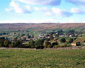 View of Askrigg, Yorkshire Dalews.