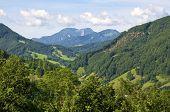 Mountains in Upper Austria