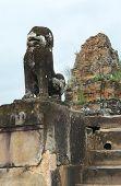 Sculpture At Preah Khan