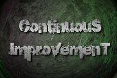 Continuous Improvement Concept