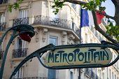 Paris Metro Sign - 01