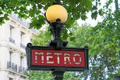 Paris Metro Sign - 02