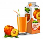 Peach juice set