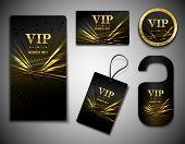 Vip cards set