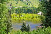 Small pond in Telluride Colorado.