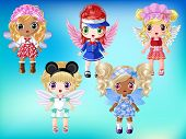 Cute Fairies with Dress up 2