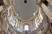 Dominican cathedral interior in Lviv, Ukraine