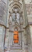Side Entrance Of Stavanger Cathedral  (xiii C.). Norway