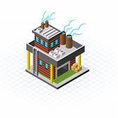 Isometric Mini Factory