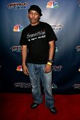 NEW YORK-AUG 13: Magician Tomas 'Smoothini' de la Cruz attends the post-show red carpet for NBC's 'A