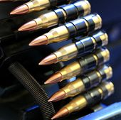 Machine gun bullets