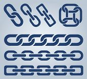 Chain icons.