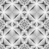 Design Seamless Decorative Trellised Pattern