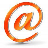 Orange Mail Icon