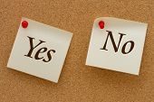 Yes Versus No