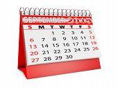 Calendar For September