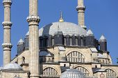 Detail Of The Selimiye Mosque, Built By Mimar Sinan In 1575