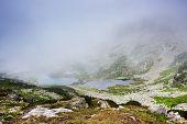 Alpine lake in National Park Retezat, Romania, Europe