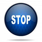 stop internet icon