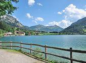 Lake Haldensee,Tannheim Valley,Tirol,Austria