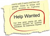 Help Wanted Ad