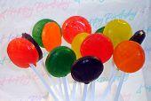Happy Birthday Lollipops poster