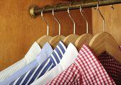 Shirts And Hanger