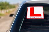 funny sign: learner driver or loser driver