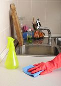 Kitchen Dirty Sink