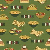 Mexican Food Pattern