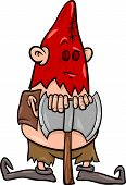 picture of hangman  - Cartoon Illustration of Executioner or Hangman with Ax - JPG