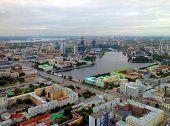 Panorama Of Ekaterinburg