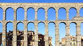 The Aqueduct of Segovia.