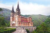 Basilica of Santa Maria in Covadonga.
