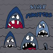 shark monsters